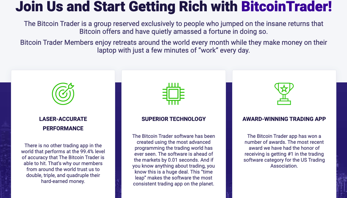 unisciti a Bitcoin Trader